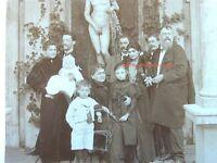 Franz v.Lenbach Original Familienfoto