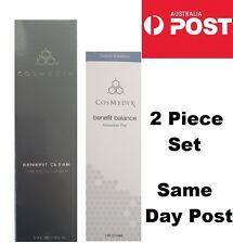 NEW CosMedix Benefit Balance Antioxidant Prep & JUMBO Gentle Cleanser 2 Pce Set