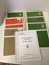 Collins Communication Transceiver Manual Lot 6181F-1 618M-1 VHF, 427D-1 & GPR-90