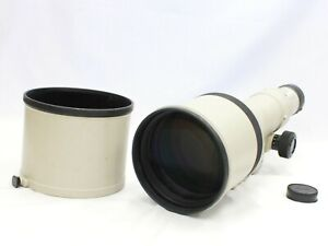[Excellent Canon New FD NFD 600mm F/4.5 MF Telephoto Lens from Japan