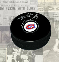 Tomas Plekanec Montreal Canadiens Autographed Puck