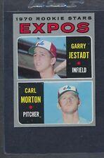 1970 Topps #109 Expos Rookie Stars Jestadt/Morton EX/MT *6471
