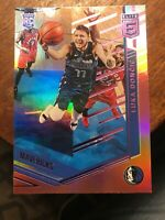 LUKA DONCIC 2018-19 Panini Chronicles Elite PINK ROOKIE CARD! Mavericks RC