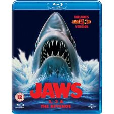 Jaws Box Set (Jaws 2/Jaws 3/Jaws: The Revenge) Blu-ray