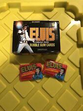 1978 ~Elvis P.~ Collectors Series Bubble Gum Trading Cards 36 Packs Box ~Donruss