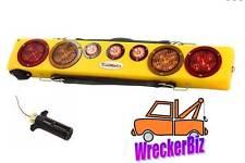 """TowMate 36"""" WIRELESS WIDE LOAD LIGHT BAR, AMBER STROBES, STT WRECKER TOW TRUCK"""