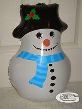 Navidad Novedad Inflable Figura Muñeco De Nieve Navidad volar divertida decoración Newair