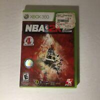 NBA 2K12 XBOX 360 Sports (Video Game) Microsoft
