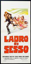 LADRO DI SESSO The Sex Thief DAVID WARBECK, EROTICO, AFFICHE POSTER LOCANDINA