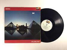 MANNA Calling You LP Tunesmith TS 6017 US 1983 VG+ Rare Christian Rock! 16D/I