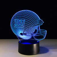 New York NY Giants LED Light Lamp Collectible Eli Manning Home Decor Gift