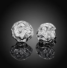 Stud Womens Fashion Earrings Jewelry #Ea38 925 Sterling Silver Rose Flower Ear