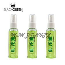 Black Queen 100% Olive Oil Sheen 2 oz Lot (Pack of 3)