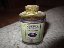 Vintage Colgate's Violet Talc Powder Sample!!!!