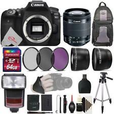 Canon EOS 90D 32.5MP DSLR Camera +  64GB Accessory Kit