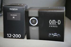 Olympus OM-D E-M1 Mark II + M.Zuiko Digital 12-200mm F/3.5-6.3 - Black