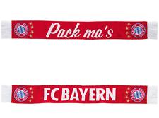 FC Bayern München Wende schal Scarf Fanshop Champions League new Pack ma's neu