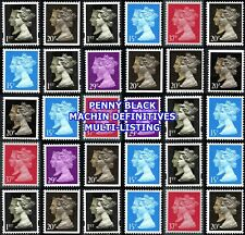 1990 Anniversary Penny Black Machin Definitives(Multiple Listing) Unmounted Mint