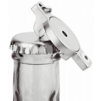 2 Stück Einkaufswagen Chip Flaschenöffner Schlüsselanhänger Metall mit Magnet