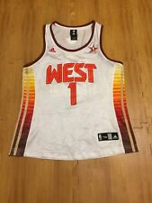 NBA West Stoudemire #1 All Star Game NBA Basketball Women`s M Adidas Jersey
