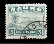 Used George VI (1936-1952) Nauruan Stamps (Pre-1968)
