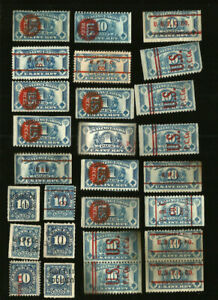 US Revenue Stamps Playing Cards Lot (27)