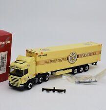 "Herpa 155878 Scania R HL Sattelzug "" Warsteiner Brauerei "", OVP, 1:87, K069"