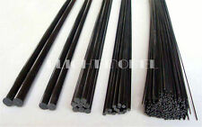 10pcs Black Carbon Fiber Rods 0.8mm x 500mm Stick CFR High Quality IN US