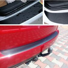 Auto Styling Kofferraum Schwarz Kohlefaser-Stil Aufkleber Abziehbild Anti-Kratz