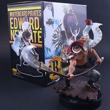 FIGURA EDWARD NEWGATE - ONE PIECE BARBABLANCA / WHITEBEARD FIGURE 22cm BOX/CAJA.