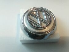 VOLKSWAGEN KARMANN GHIA HOOD EMBLEM AND BASE WITH SEAL  1963-1974 141853601BST