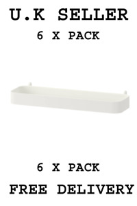 6 X SKÅDIS Shelf, white 003.207.99