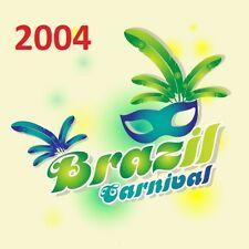 BRAZIL Rio CARNIVAL CARNAVAL 2004 - 14 DVD - Complete Parade