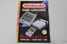 CATALOGUE officiel de jeu - 1993 - 1994 - Nintendo - SNES - GAMEBOY - NES