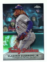 VLADIMIR GUERRERO JR. RC 2019 TOPPS CHROME UPDATE THE FAMILY BUSINESS #19