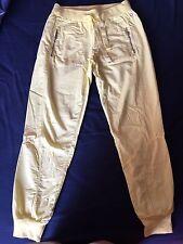 pantaloni donna DEHA cotone giallo canarino taglia M