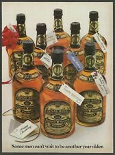 CHIVAS REGAL Blended Scotch Whisky - 1980 Vintage Print Ad