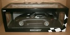 1/18 Mercedes SLS AMG GT3 Model - 2011 Street Matte Black MINICHAMPS 151-113101