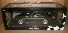 1/18 Scale 2011 Mercedes SLS AMG GT3 Street Matte Black - MINICHAMPS 151-113101