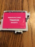 Remanufactured Ink Cartridge Replaces T060320 Magenta Ships N 24h