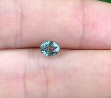 Natural ALEXANDRITE Certified 0.58 ct Loose Gemstone Oval Yellow Green Brown Red