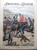 La Domenica del Corriere 14 Maggio 1905 Pasqua Polonia Marte Ponte Torino Liegi