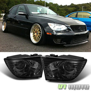 For Smoke 2001-2005 Lexus IS300 Projector Fog Lights 01-05 Bumper Driving Lamps
