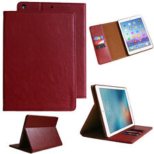 PREMIUM CUERO GENUINO Funda para iPad de Apple 234 protectora tableta bolsillo