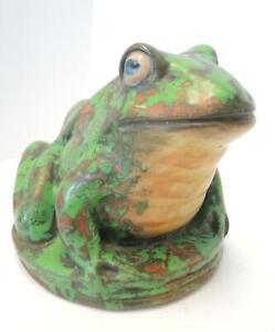 Rare Weller Pottery Coppertone Frog