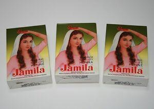NEW 20-21 Authentic Jamila Henna/Mehndi Powder (3x100g=300g) (Body Art Quality)