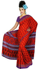 mousseline Bollywood Carnaval SARI ORIENT INDE fo310