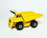 1997 HOT WHEELS      CAT DUMP TRUCK     ACTION MACHINES      YELLOW     LOOSE