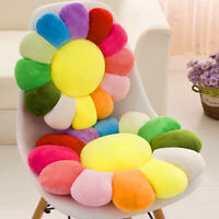 "16"" 20"" 24"" Rainbow Cushion Soft Seat Pad Sofa Chair Floor Pillows Home Decor"