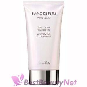 Guerlain Blanc De Perle White Pearl Active Reviving Cleansing Foam 5oz / 150ml